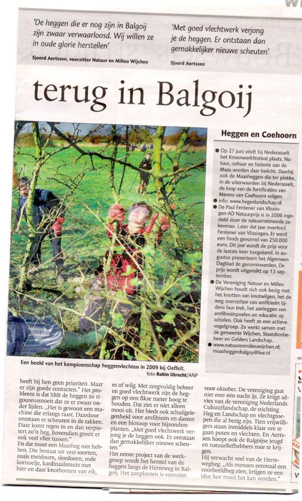de gelderlander 18 juni 2010 - deel 2