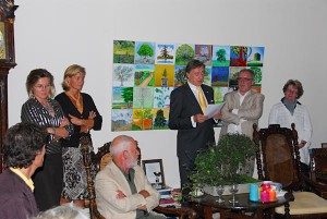 uitreiking Paul Fentener van Vlissingen Natuurprijs 2010