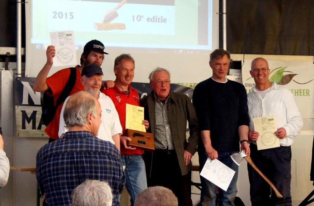 balgoys team winnaar bij maasheggenvlechten